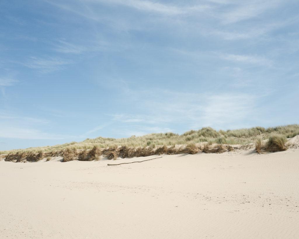 Landscape photo beach calais